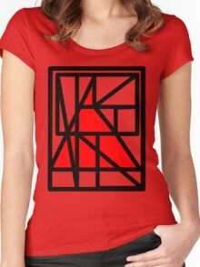 TriRed Women's Fitted Scoop T-Shirt