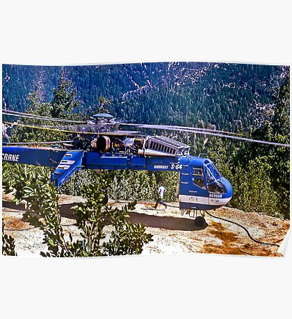 Helicopter Logging 2 Poster
