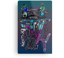 Let the Music Play ! Metal Print