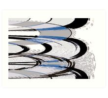 Records Abstract Art Print