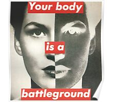Your Body is a Battleground Poster