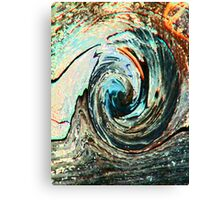 Rolling Downhill Canvas Print