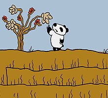 Poor Percy Panda - mother nature's philosopher by jaymoysey