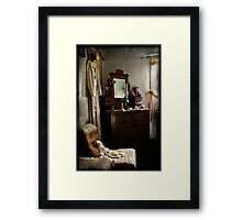 Ackerman's Cottage cameo No 2 ~ Hill End NSW Framed Print