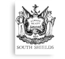 South Shields Coat of Arms II Canvas Print