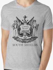 South Shields Coat of Arms II Mens V-Neck T-Shirt