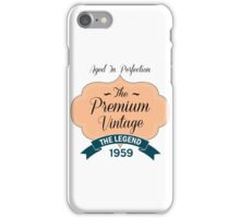 The Premium Vintage 1959 iPhone Case/Skin