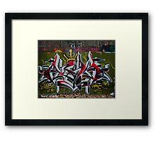 Graffiti Jive Framed Print