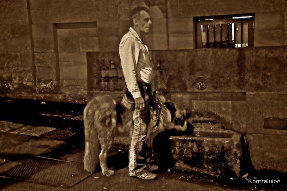 Man best friend... by Kornrawiee