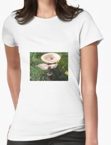 Wild Mushrooms Womens Fitted T-Shirt