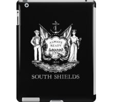 South Shields Coat of Arms White iPad Case/Skin