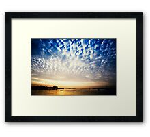 Sungarvan Over The Harbour Framed Print