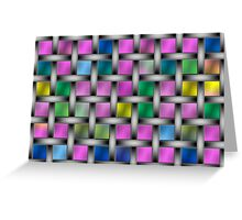 Color and pattern Flash Greeting Card