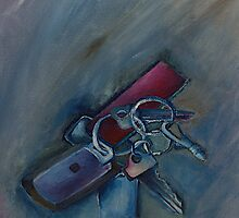 Where are my keys? by MIchelle Thompson