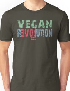 VEGAN EVOLUTION in Love Unisex T-Shirt