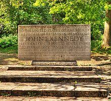 JFK Memorial Runnymede by Chris Day