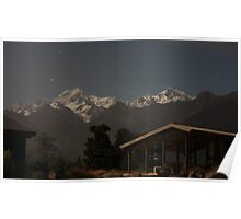 Mount Cook by night Poster