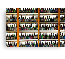 99 BOTTLES OF BEER ON THE WALL Canvas Print