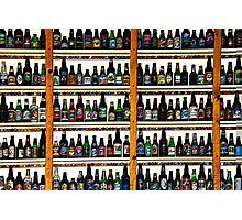 99 BOTTLES OF BEER ON THE WALL Photographic Print