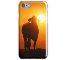 Silhouette Cow iPhone Case/Skin
