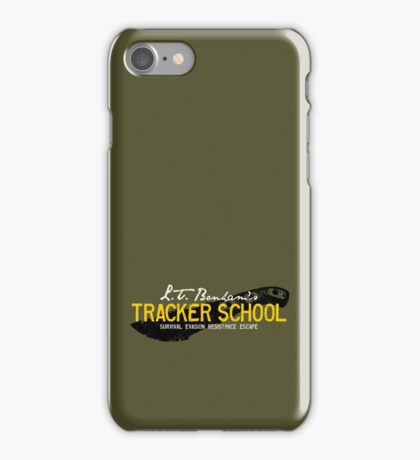 L.T. Bonham's Tracker School iPhone Case/Skin