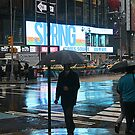 Reflections Times Square by Stormswept
