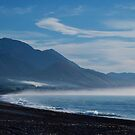 Kaikoura Smoking by Cathy  Walker