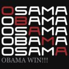 Obama win osama bin laden dead by personalized