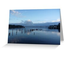 Dusk at Risby Cove -Tasmania  Greeting Card