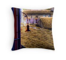 The old lamp Throw Pillow