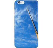 The boom of the crane  iPhone Case/Skin