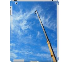 The boom of the crane  iPad Case/Skin
