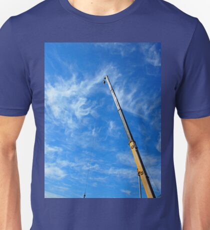 The boom of the crane  Unisex T-Shirt