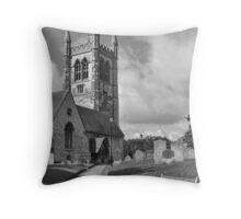 St Andrew's Church, Farnham, Surrey, UK. Throw Pillow
