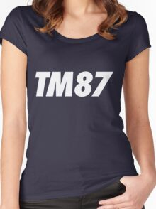 TM87 Women's Fitted Scoop T-Shirt