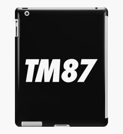 TM87 iPad Case/Skin