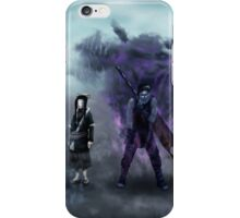 Zabuza and Haku in the mist iPhone Case/Skin