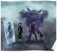 Zabuza and Haku in the mist Poster
