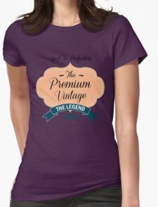 The Premium Vintage 1982 Womens Fitted T-Shirt