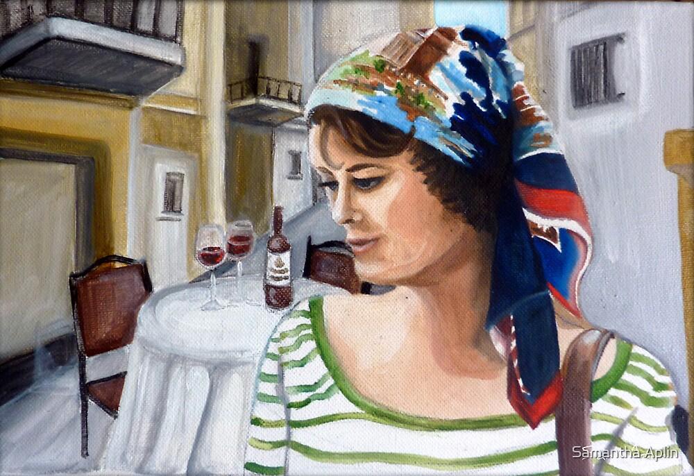 Woman alone by Samantha Aplin
