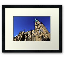 Gothic points-Cathedral, Toronto Framed Print