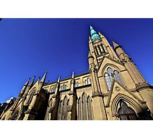 Gothic points-Cathedral, Toronto Photographic Print