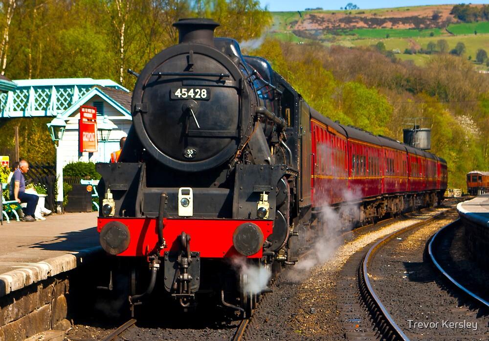 At The Platform - Grosmont by Trevor Kersley