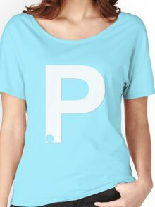 P White Women's Relaxed Fit T-Shirt