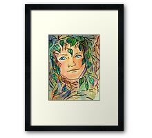 Forest Elf... Framed Print
