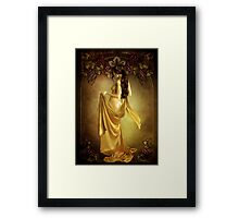 Lady of the Vine Framed Print