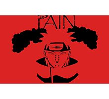 Pain. Photographic Print