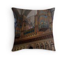 Organ pipes  Throw Pillow