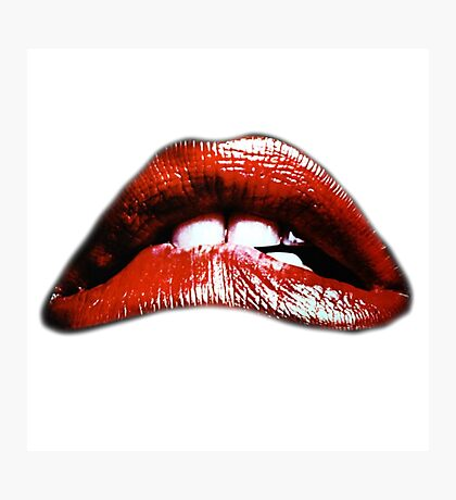 Rocky Horror Lips Photographic Print