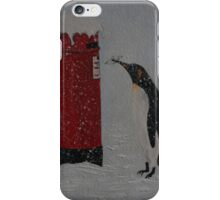 Penguin Post iPhone Case/Skin
